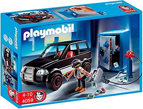 Playmobil Polizia 4059 Scassinatore con Auto