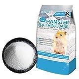 Hamster Bathing Sand,Gerbil Powder Grooming Sand for Tiny Friends Farm Chinchilla Dust Bath Potty...