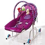 Gleecare Baby Swing,Baby Rocking Cradle Baby Comfort Chaise Longue...