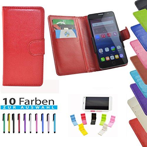5 in 1 set ikracase Slide Hülle für UMIDIGI Z1 Pro Tasche Case Cover Schutzhülle Smartphone Etui in Rot 5.5