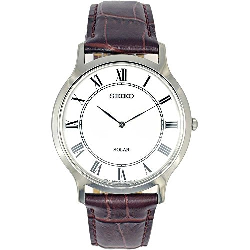 Seiko Watches Men's Stainless Steel Quartz Pocket Watch (Model: SUP869P1)