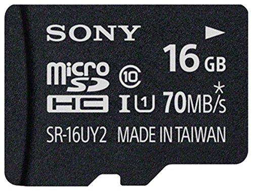 Sony microSDHC GB UHS-I Class High...