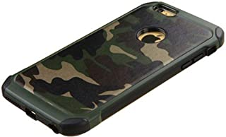 FDTCYDS iPhone 6 case,iPhone 6s case Shockproof Armor Ultra Hybrid Rugged Camouflage Case for Apple iPhone 6/6S - Camo Green (4.7-inch)