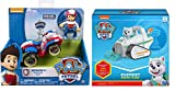 Paw Patrol Everest's Snow Plow and Paw Patrol Ryder's Rescue ATV, Vechicle and Figure. Includes Blizy Pen