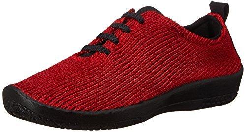 Arcopedico Womens LS 1151 Red Fabric Shoes 39 EU