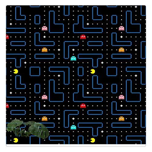 DFSDG Klassische Arcade Spiel Pac-Man Wandkunst Leinwand Malerei Nordic Poster und Drucke Wandbilder Für Wohnzimmer Wohnkultur (Size : 60x60cm Frameless)