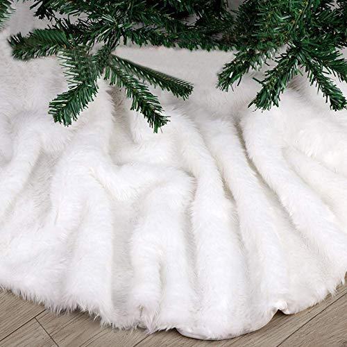 Bianca Gonna per Albero di Natale, 78cm Lusso...