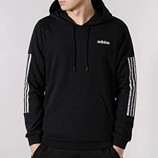 adidas 阿迪达斯男装卫衣 春季 运动休闲跑步训练针织上衣保暖连帽套头衫