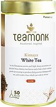 Sponsored Ad - Teamonk Kimaya Darjeeling White Tea Bags - 50 Tea Bags | 100 % Pure Natural White Tea | Powerful Antioxidan...