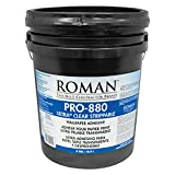 ROMAN Products 012405 PRO-880 Ultra Clear Strippable Wallpaper Adhesive, 5 Gal, 1,650 Sq. Ft