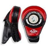 Senston Paos de Boxeo Almohadilla de Entrenamiento de Boxeo para Kick Boxing Muay Thai MMA