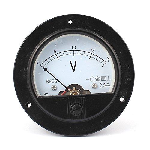DealMux DC 0-20V Analoges Schalttafel-Messgerät Volt Spannungsanzeige Analoges Voltmeter