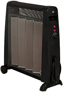FM Calefacción RM-20 Negro 2000W Radiador - Calefactor (Radiador, Piso, Negro, Giratorio, 2000 W, 1000 W)