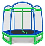 ASDDD Outdoor Large-Scale Trampoline with Net Indoor Trampolines Rebounder Trampoline Silent, Home Children's Indoor Rebounders, Outdoor Sports Trampoline with Net Protection