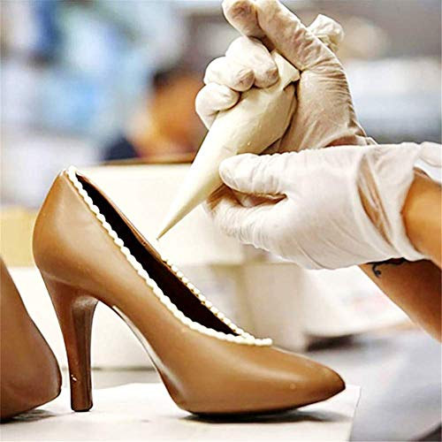 Starmood 1 Set High Heels Schuhe, PC Schokolade Süßigkeiten Form 3D Formen Fondant DIY Backformen Formen S