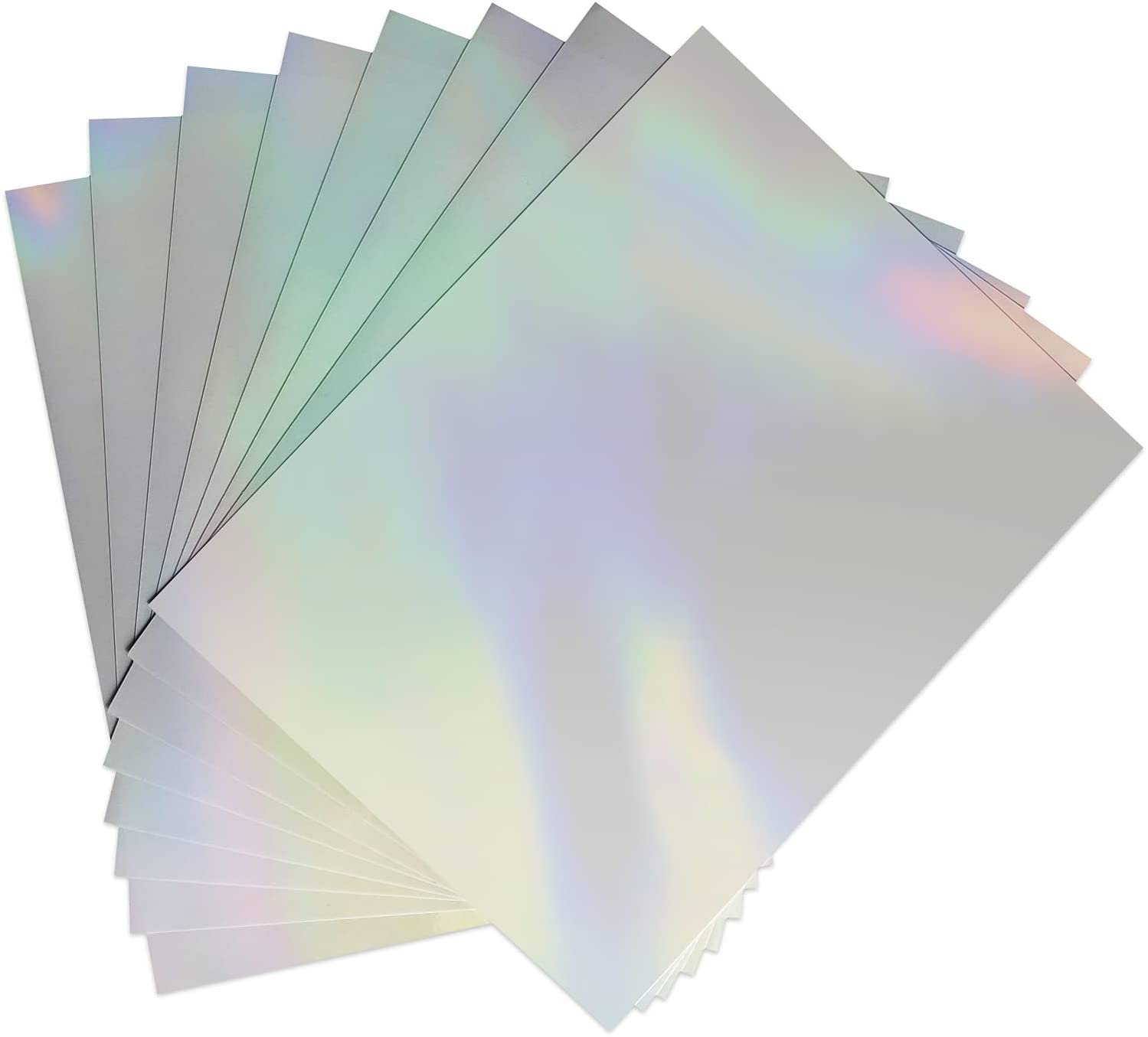 Clear Holographic Sticker Paper for Ink Branded goods Inc Printer jet Special price 8.5 x 11