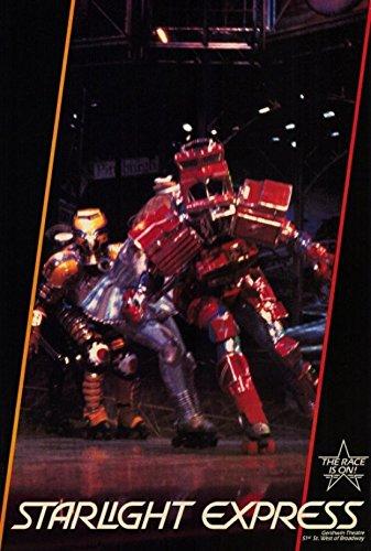 Starlight Express (Broadway) Movie Poster (68,58 x 101,60 cm)