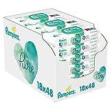 Pampers Aqua Pure Baby Feuchttücher, 864 Tücher (18 x 48)