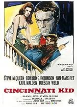 The Cincinnati Kid Movie Poster (27 x 40 Inches - 69cm x 102cm) (1965) Italian -(Steve McQueen)(Edward G. Robinson)(Ann-Margret)(Tuesday Weld)(Karl Malden)(Joan Blondell)