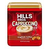 Hills Bros Cappuccino English Toffee 16oz