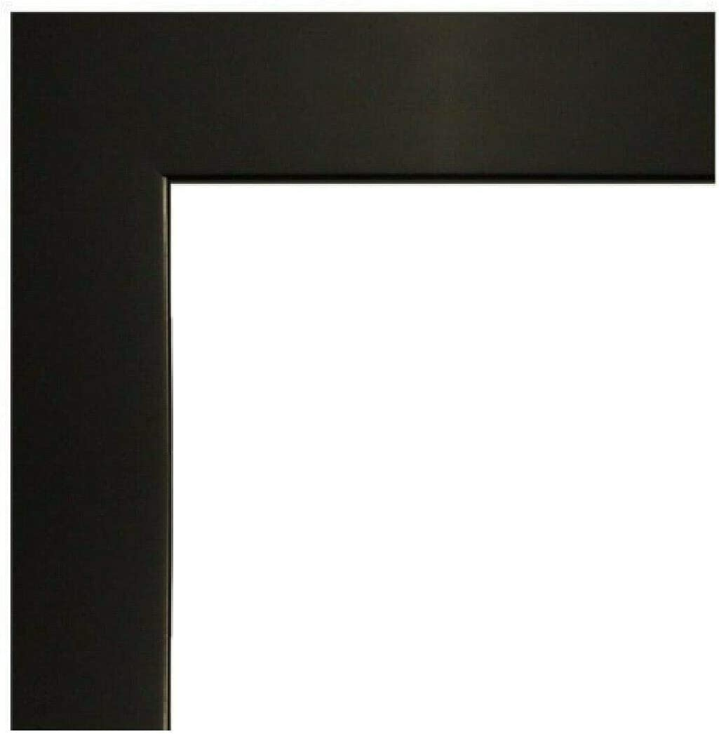 US Art Frame 24x36 Satin Black MD Fashion Flat Inch Wood 1.25 Composite Clearance SALE! Limited time!