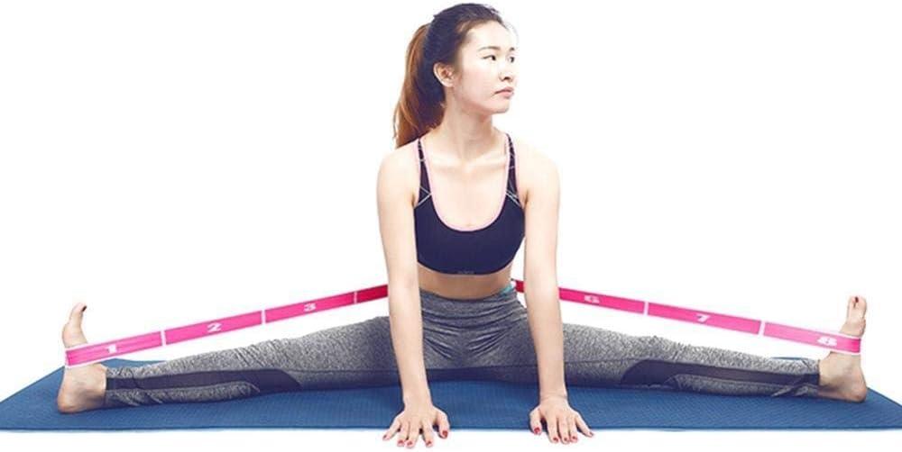 GLANGYU Femmes Filles De Danse Latine Ceinture /Élastique Pull Exercice Sangle Sport Bande De R/ésistance for Le Yoga