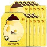 Papa Recipe Bombee Honey Mask Sheet 10 sheets, Korean skin care, facial skin care sheet mask, deep Moisturizing for dry skin