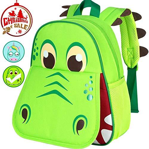 Toddler Backpack, 12' Dinosaur Backpacks for Boys