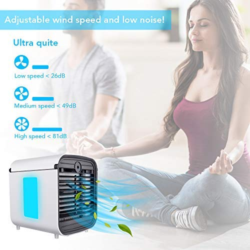 Hisome Portable Air Cooler, 4 in...