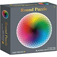Mailin 1000 Pieces Round Jigsaw Puzzle for Adults
