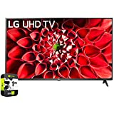 LG 75UN7070PUC 75 inch 4k HDR Smart LED TV Bundle with 1 Year...