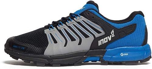 INOV-8 Roclite 275 Chaussures de Course sur Sentier pour Homme, Noir, 42