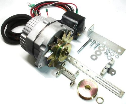 New Tractor Alternator Conversion Kit Replacement For Ford Early 8N, 2N, 9N ONE-WIRE Alternator to change from old style generator. Ford 8N, 2N, 9N 1939-1951