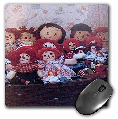 3dRose LLC 8 x 8 x 0.25 Inches Raggedy Ann's Mouse Pad (mp_21551_1)