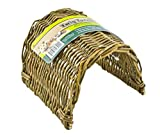 Ware Manufacturing Hand Woven Willow Twig Tunnel Small Pet Hideout, Small