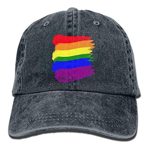 Gorra vaquera con dibujo colores bandera Orgullo Gay