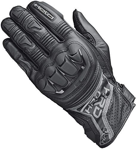 Held Motorradhandschuhe lang Motorrad Handschuh Kakuda Handschuh schwarz 12, Herren, Sportler, Ganzjährig, Leder