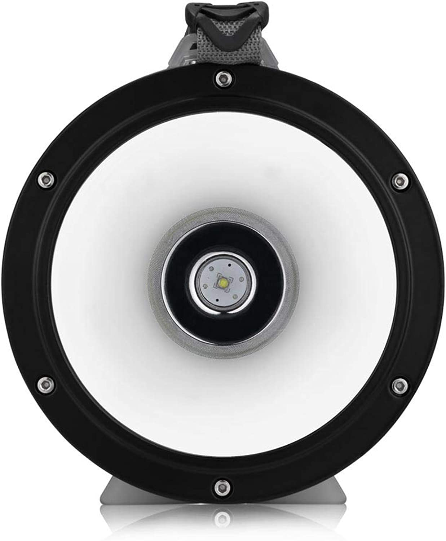 WXCCK Wiederaufladbare LED Outdoor Tragbare Leuchte, L2 Blendung Suchscheinwerfer wasserdichte Multifunktions-Wiederaufladbare Campingleuchte Geeignet Für Camping, Wandern, Angeln
