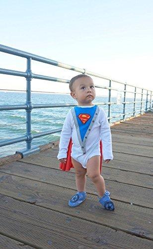 It is very popular Handmade Baby Boy Superman Superbaby Bodysuit 40% OFF Cheap Sale Onesie Cape with