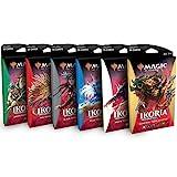 Magic The Gathering MTG Ikoria Lair of Behemoths potenciadores temáticos, todos los 5 colores + paquete de monstruos.