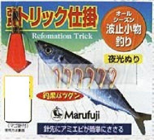 Marufuji(マルフジ) PW-516R 改良トリック夜光6本 4号