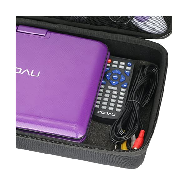 """Hard Case Replacement for COOAU 11.5"""" Portable DVD Player 5"""