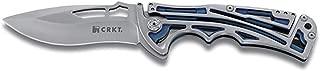 CRKT Nirk Tighe 2 EDC Folding Pocket Knife: Everyday Carry, Satin Blade, Integrated Klecker Lock, Skeletonized Handle, Deep Carry Pocket Clip 5240