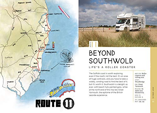 Take the Slow Road: England and Wales: Inspirational Journeys Round England and Wales by Camper Van and Motorhome