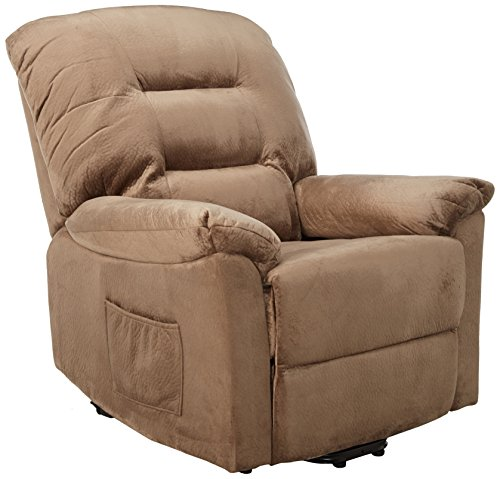 Coaster Brown Sugar Power Upholstery Lift Recliner