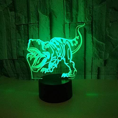 Neue 3D Dinosaur Open Nachtlampe Für Den Elektronischen Handel Leuchttischlampen Remote Touch Usb Und Schreibtischbatterie Schreibtischlampe