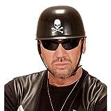 Amakando Skull Motorradhelm Gothic Biker Totenkopfhelm Totenschädel Bikerhelm Totenkopf Helm...