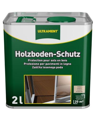 Ultrament Holzboden-Schutz (Tropenholz), farblos, 2l