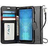 J&D Case Compatible for Motorola Moto G6 Play Case, Wallet