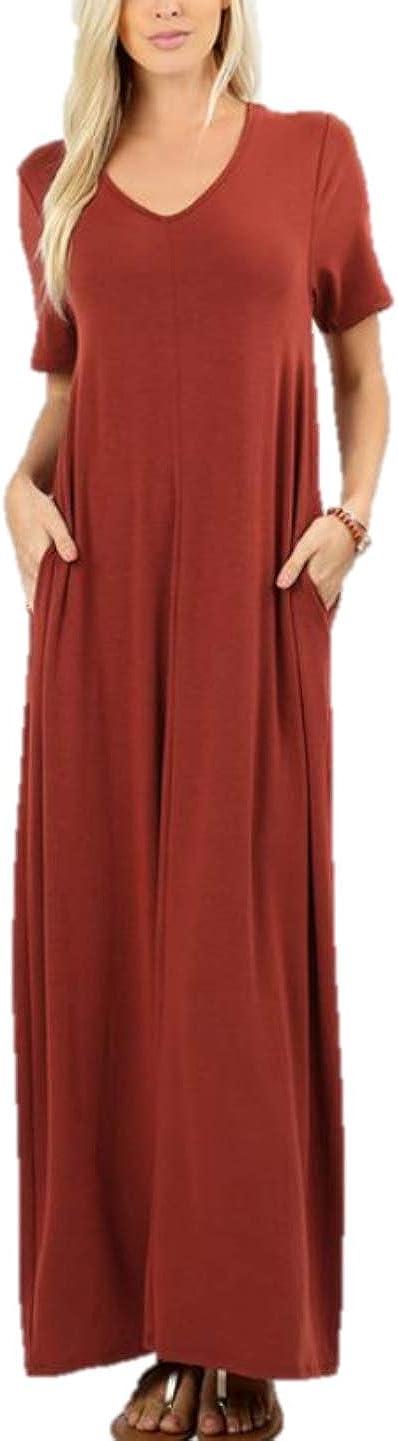 Ranking TOP18 Zenana Women's Max 72% OFF Premium Casual Long Relaxed Maxi T-Shirt Loose Dr